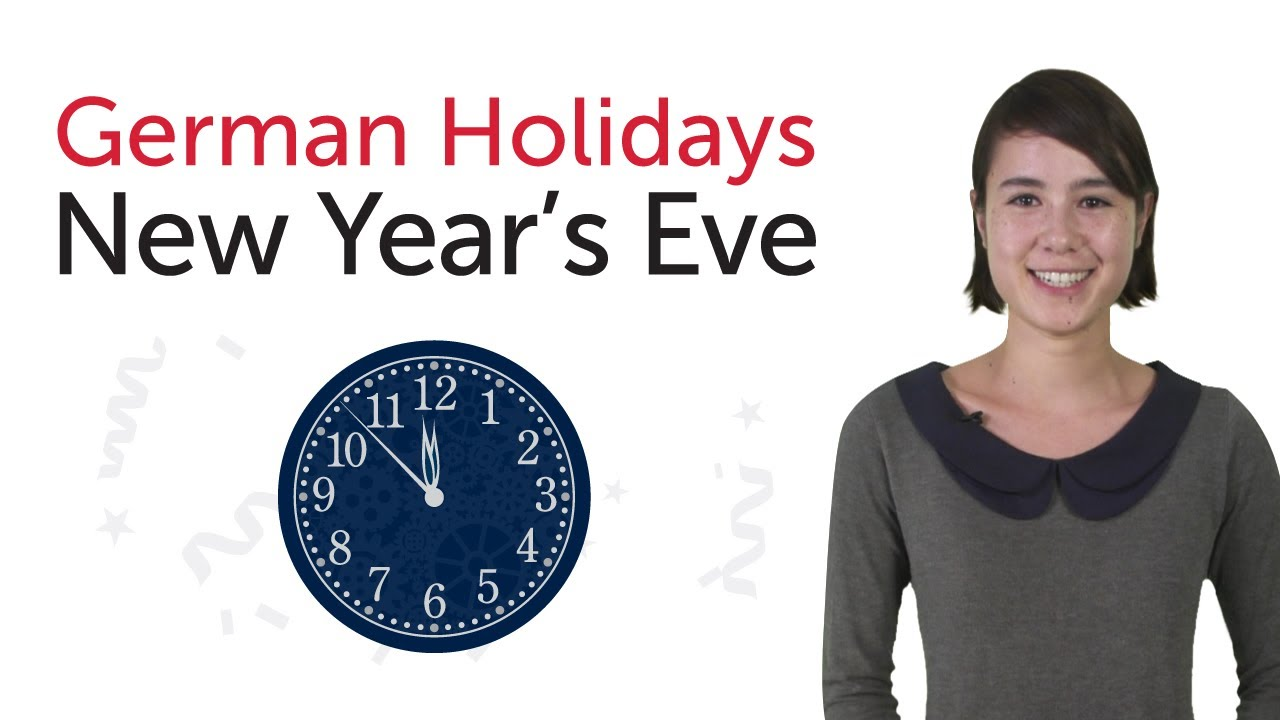 Learn German Holidays – New Year's Eve