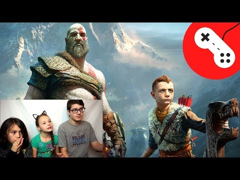 GOD OF WAR Official Final Trailer Reaction!!!