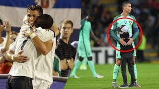 Video Cristiano Ronaldo HUGS with Fans #RESPECT | Emotional Video 2017 MP3, 3GP, MP4, WEBM, AVI, FLV Juni 2018