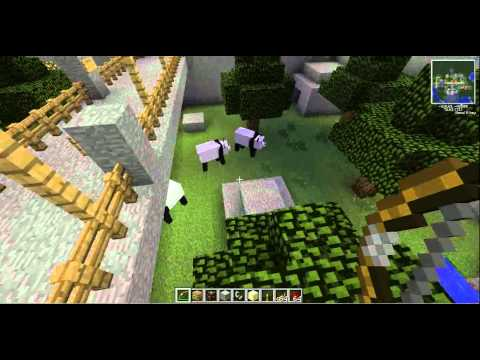 Minecraft zoo WITH MO CREATURE AND ENDANGERED MOBS