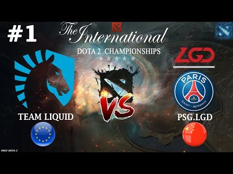 МАТЧ ДНЯ | Liquid vs РSG.LGD 1 (ВО2) | Тhе Inтеrnатiоnаl 2018 - DomaVideo.Ru