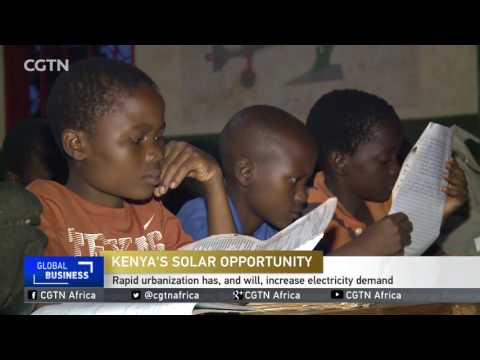 American D. light solar maker enters African market (видео)