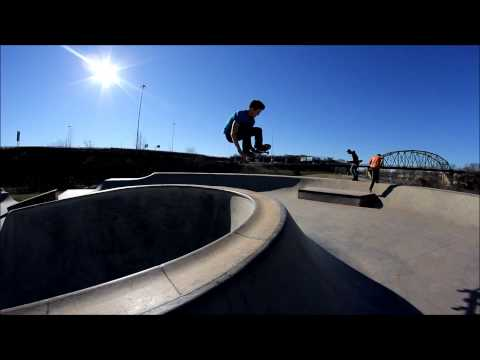 A day at the Parkersburg, WV skatepark