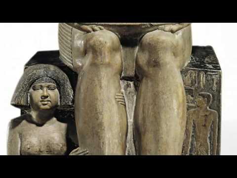 Продана на аукционе ценная египетская статуя, возраст которой составляет 4000 лет
