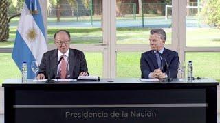 El presidente del Banco Mundial aseguró el jueves en Buenos Aires que la economía argentina crecerá 2,7% en 2017, y elogió...