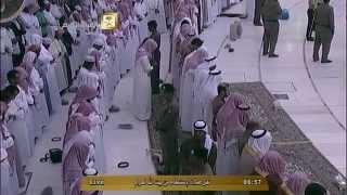 صلاة وخطبة الإستسقاء من الحرم المكي الشريف الإثنين 24 محرم 1436هـ الشيخ صالح آل طالب HD .
