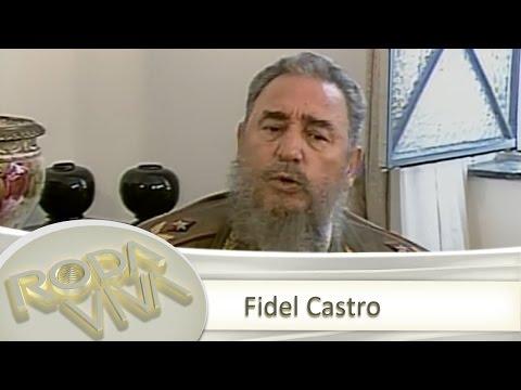 Reveja entrevista histórica de Fidel Castro ao Roda Viva