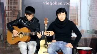 Nơi tình yêu bắt đầu - guitar : Hồng Quân ( lớp guitar Việt johan).