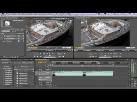dhelmly - Part 1 of 2: Here's a quick walk thru on how to edit the video from your pocket USB camera using Adobe Premiere Pro. In this video, I show both the Flip Mimo...