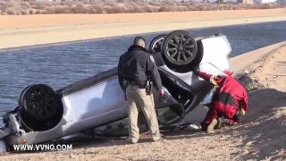 Hesperia (CA) United States  city pictures gallery : Man disappears after crashing into California Aquaduct in Hesperia