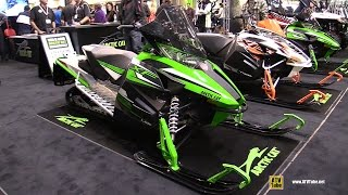 10. 2015 Arctic Cat XF 6000 Snowmobile - Walkaround - 2014 Toronto ATV Show