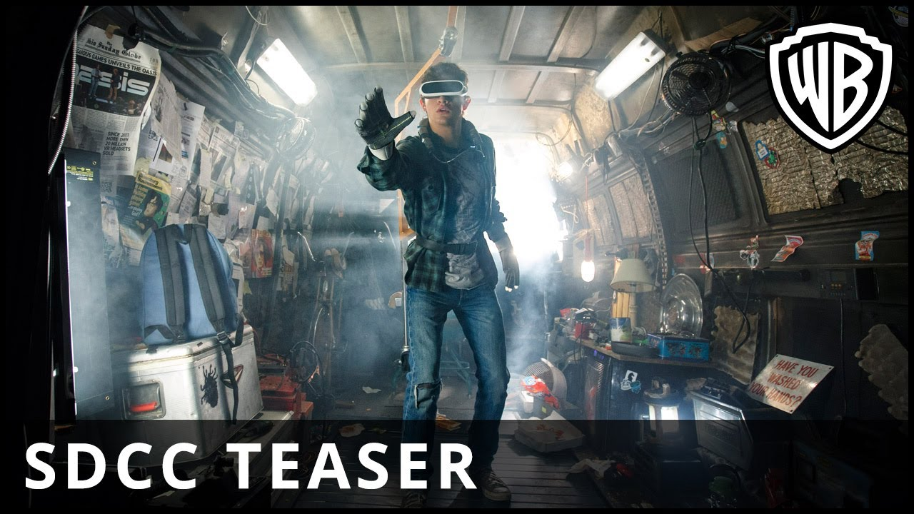 Break Free in Steven Spielberg's adaptation of Ernest Cline's 80s Pop Culture Virtual Reality 'Ready Player One' (Comic Con Trailer)
