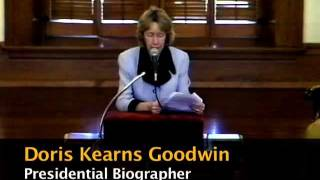 1999 - Historian Doris Kearns Goodwin Discusses US Presidents at DePauw University