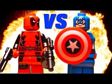 Video Lego Deadpool vs Captain America download in MP3, 3GP, MP4, WEBM, AVI, FLV January 2017