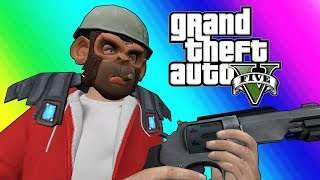 GTA5 Online Funny Moments: Doomsday Heists - Jetpacks at Last!!