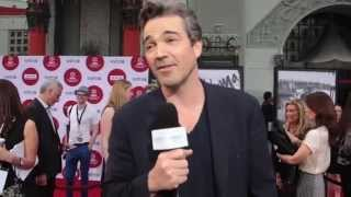 """What's the most scandalous thing """"Scandal"""" actor Jon Tenney has done, and how devoted to live-tweeting is he? Jon talks with WaldenPonders at the red carpet world premiere restoration of """"Oklahoma!"""" at the 2014 TCM Classic Film Festival (which happened to be a Thursday)!"""