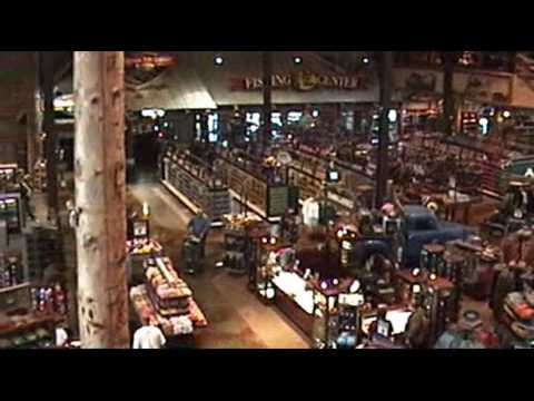 Bass Pro Shops- Mounted Animal Displays (видео)