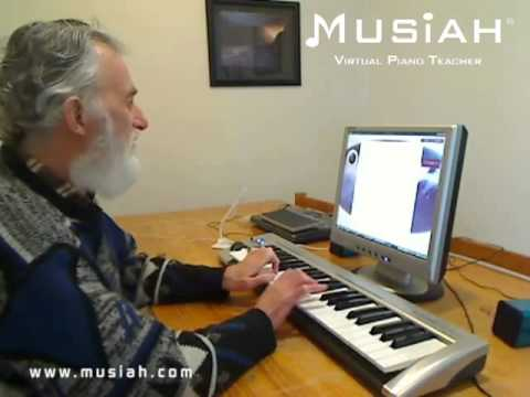 Piano Video: Online Piano Lessons Song #46 Ode To Joy played by Maurie