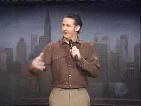Harland Williams on Letterman