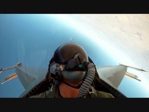 Popisowy lot F-16
