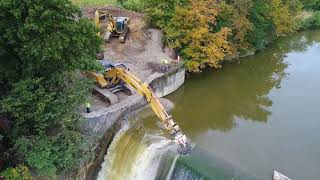 Video Ballville Dam Removal Day 1 MP3, 3GP, MP4, WEBM, AVI, FLV Juli 2019