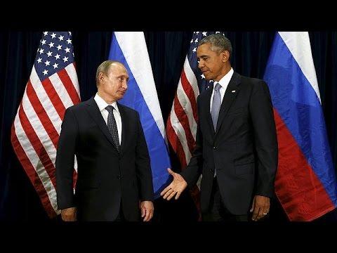 Ομπάμα, Πούτιν και στη μέση η Συρία