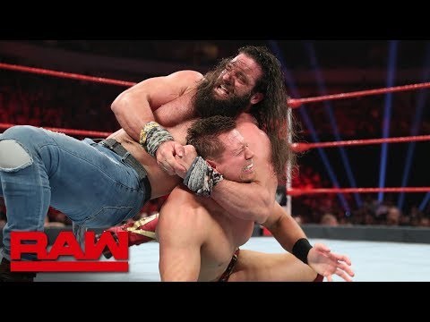 The Miz vs. Elias – 2-out-of-3 Falls Match: Raw, July 1, 2019