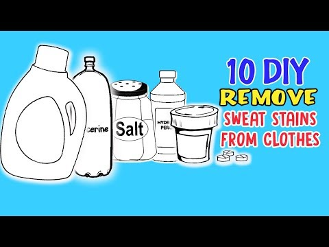 10 DIY Ways To Remove Sweat Stains From Clothes