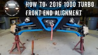 2. RZR How To - Front End Alignment