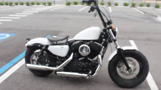 8. 2013 Harley-Davidson Sportster 48 (Custom Paint Mint Condition) Engine Start and Overview
