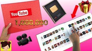 Me llego una gran sorpresa de los amigos de youtube! Un regalo muy especial por sobrepasar 1 millon de suscriptores en el año 2016! Los juguetes de titi ahora tiene mas de 2.3M de titifans! es realmente increible. Se lo agradesco a cada uno de ustedes por apoyarme en casa etapa de mi carrera en youtube. los quiero mucho.