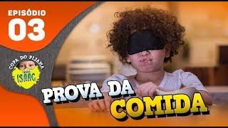 DESCOBRINDO QUAL É A COMIDA DE OLHOS VENDADOS!! #CopaDoPijama - Ep 03  Isaac do VINE