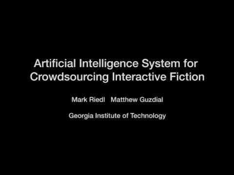 AI Interactive Fiction Video
