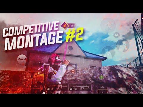 COMPETETIVE MONTAGE #2 | TITANS Sxygod | PUBG Mobile