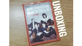 Unboxing Made In The A.M deluxe edition - One Direction