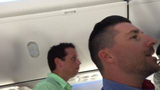 Line Dancing aboard a SouthWest Air flight from Seattle to Dallas