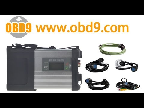 MB SD Connect Compact 5 Star Diagnosis with WIFI for Cars and Trucks Multi-Langauge