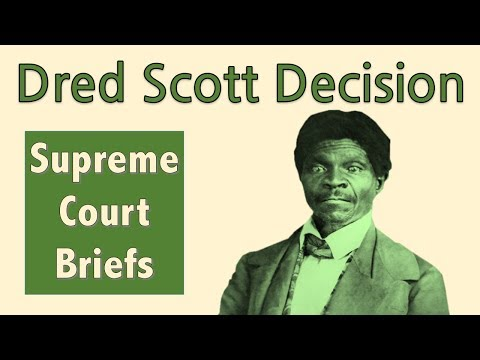 The Supreme Court Case That Led To The Civil War | Dred Scott V. Sandford