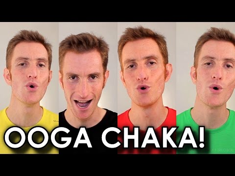 Hooked On A Feeling (Guardians Of The Galaxy / Blue Swede) - A Cappella Cover - Barbershop Quartet