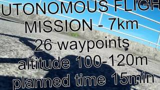 Description:Autonomous mission drone.DIY APM 2.6 quadcopter.Testing in special conditions. The flight near the power plant.The main task to test the GPS, and compass.The result of mission:Autopilot controller get alarm for the  MAG(compass) ERR_EKF. the main reason is magnet field interference. The flight was stable.  The GPS signal was no problem.The flight near power plant or big transformers is not recommended.