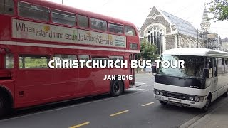 Christchurch New Zealand  City new picture : Christchurch Sightseeing Bus, New Zealand