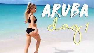 Hej älsklingar! Här kommer första vloggen från Aruba. Vi har det verkligen så bra och det är galet vackert här! Väldigt mycket ödlor som ni kanske ser men man ...