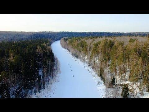 Снегоходное путешествие по реке Чусовая. Снегоходный тур по Чусовой. Маршрут на снегоходах по Уралу.