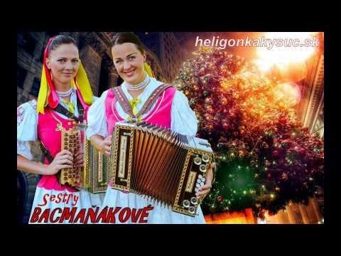 Vianočné koledy - Mám rada Ježiška, Lenka a Evka Bacmaňákové