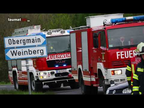 Schwerverletzte Lenkerin nach Crash zwischen LKW und PKW in Gaspoltshofen
