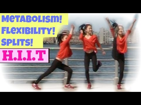 HIIT for SPLITS: Flexibility + Strength in 5 MINUTES! (Full Body Workout)