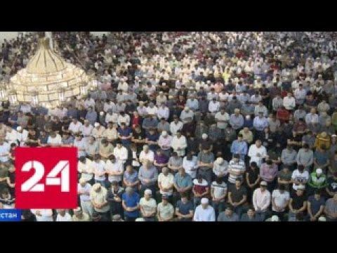 В Дагестане Курбан-байрам отмечают с размахом - Россия 24 (видео)