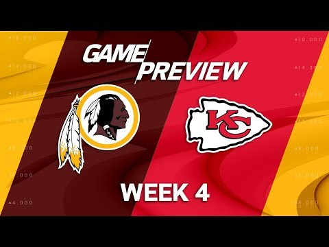 Video: Washington Redskins vs. Kansas City Chiefs | Week 4 Game Preview | NFL Playbook