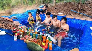 Hồ Bơi Trái Cây Ướp Lạnh ( Lake of cold fruit )