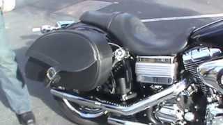 7. 2009 Harley-Davidson Dyna Low Rider Motorcycle Saddlebags Review - vikingbags.com